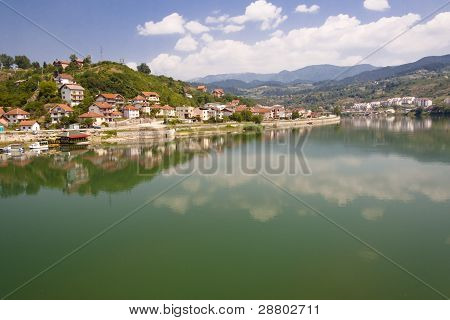 View On Visegrad Town