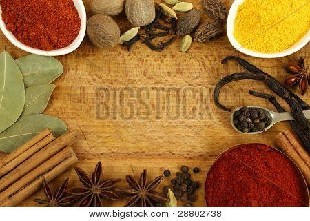 Spices Frame