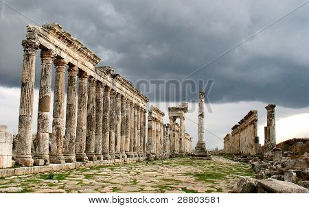 Apamea Before A Thunder-storm