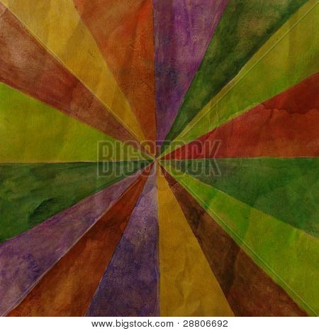 Abstract background, rays of rainbow