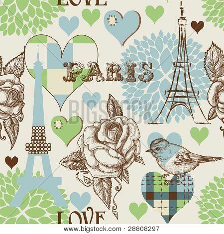 Patrones sin fisuras de París