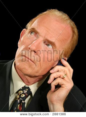 Crank Call Businessman