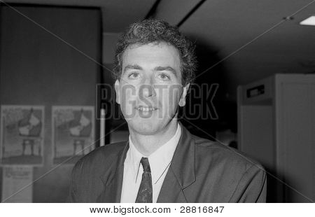 BRIGHTON, ENGLAND - OCTOBER 1: Calum MacDonald, Labour party Member of Parliament for the Western Isles, attends the party conference on October 1, 1991 in Brighton, Sussex.