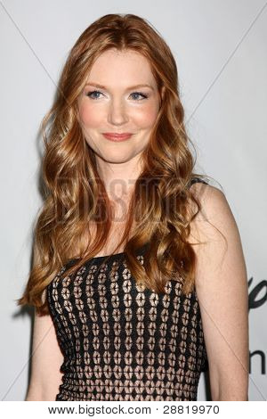 LOS ANGELES - JAN 10:  Darby Stanchfield arrives at the ABC TCA Party Winter 2012 at Langham Huntington Hotel on January 10, 2012 in Pasadena, CA