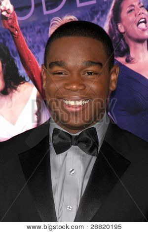 "LOS ANGELES - JAN 9:  Dexter Darden arrives at the""Joyful Noise"" Premiere at Graumans Chinese Theater on January 9, 2012 in Los Angeles, CA"