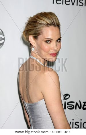 LOS ANGELES - JAN 10:  Leslie Bibb arrives at the ABC TCA Party Winter 2012 at Langham Huntington Hotel on January 10, 2012 in Pasadena, CA
