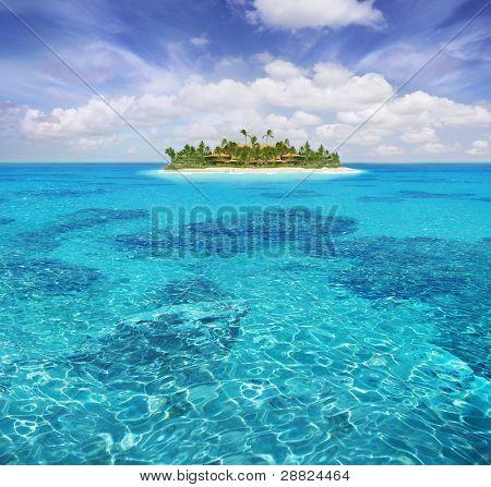 karibischen Paradies