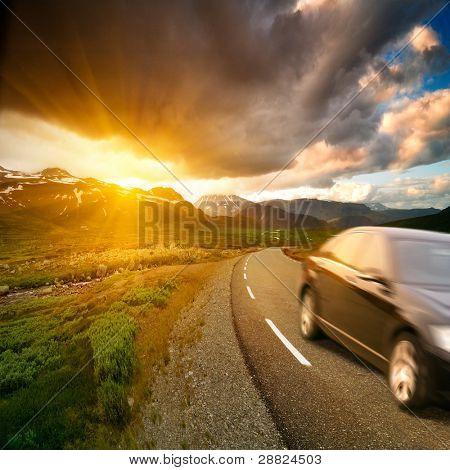 Carretera de Noruega