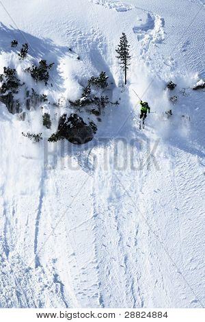 Skier & freeride