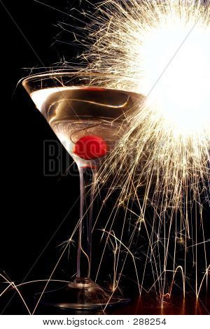 Sparkler Cocktail