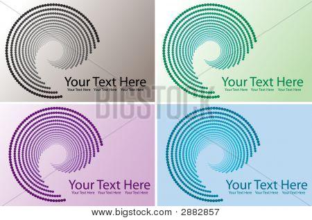 Four Swirl Designs