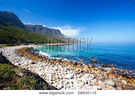 hout bay beach, cape peninsula, south africa