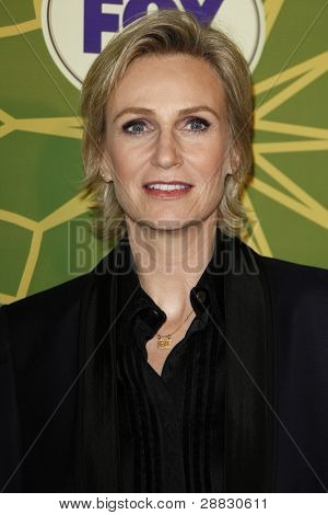 LOS ANGELES - JAN 8:  Jane Lynch at the FOX All Star Winter TCA Party at Castle Green on January 8, 2012 in Pasadena, California.