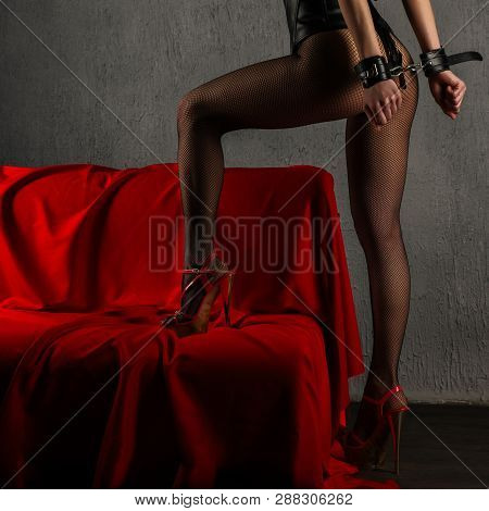 Beautiful Sexy Lady In Bdsm