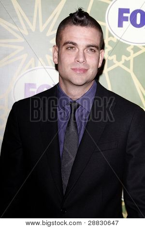 LOS ANGELES - JAN 8:  Mark Salling at the FOX All Star Winter TCA Party at Castle Green on January 8, 2012 in Pasadena, California.