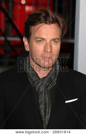 LOS ANGELES - JAN 11:  Ewan McGregor arrives at  People's Choice Awards 2012 at Nokia Theater at LA Live on January 11, 2012 in Los Angeles, CA