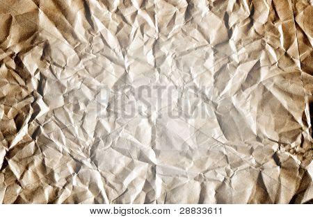 vintage crumpled paper