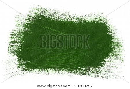 big green brush