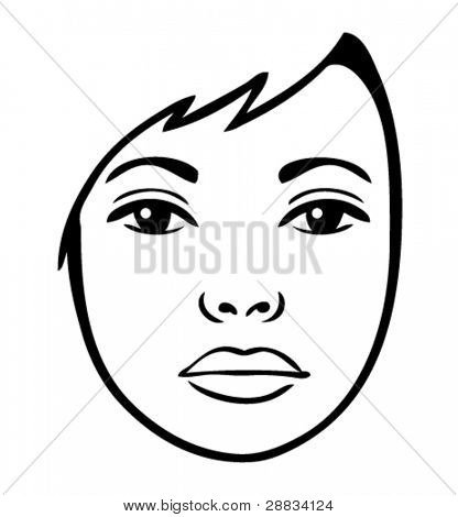 Woman's Face