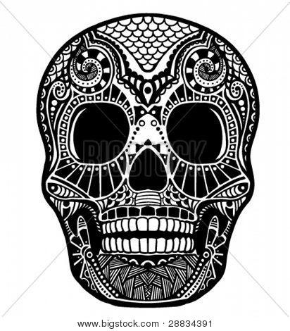 ornamento de cráneo