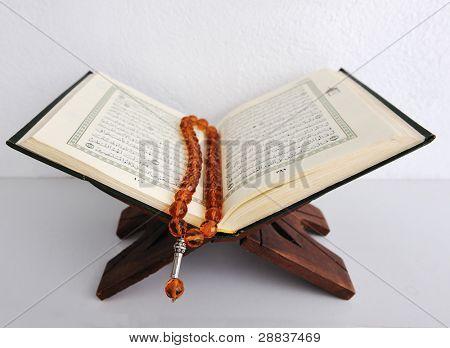 Koran, holy book of Muslims