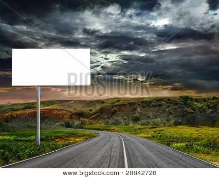 A winding paved country road