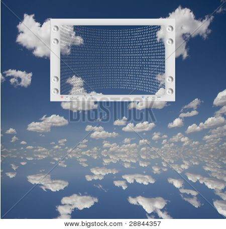 Flat Panel and Sky