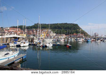 Scarborough Harbor England