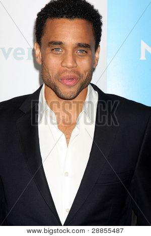LOS ANGELES - JAN 6:  Michael Ealy arrives at the NBC Universal All-Star Winter TCA Party at The Athenauem on January 6, 2012 in Pasadena, CA