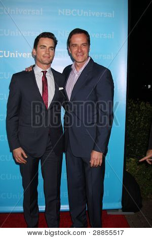 LOS ANGELES - JAN 6:  Matt Bomer, Tim DeKay arrives at the NBC Universal All-Star Winter TCA Party at The Athenauem on January 6, 2012 in Pasadena, CA