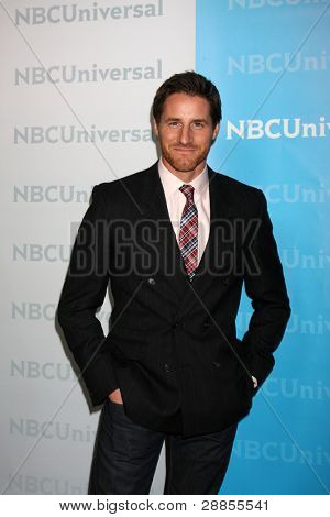LOS ANGELES - JAN 6:  Sam Page arrives at the NBC Universal All-Star Winter TCA Party at The Athenauem on January 6, 2012 in Pasadena, CA