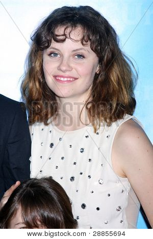 LOS ANGELES - JAN 6:  Sarah Ramos arrives at the NBC Universal All-Star Winter TCA Party at The Athenauem on January 6, 2012 in Pasadena, CA