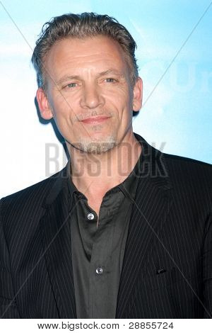 LOS ANGELES - JAN 6:  Callum Keith Rennie arrives at the NBC Universal All-Star Winter TCA Party at The Athenauem on January 6, 2012 in Pasadena, CA