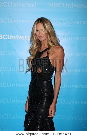 LOS ANGELES - JAN 6:  Elle Macpherson arrives at the NBC Universal All-Star Winter TCA Party at The Athenauem on January 6, 2012 in Pasadena, CA