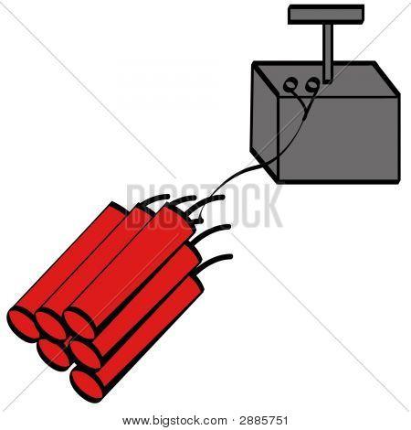 Dynamite And Detonator