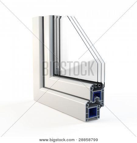 Plastic Window profile