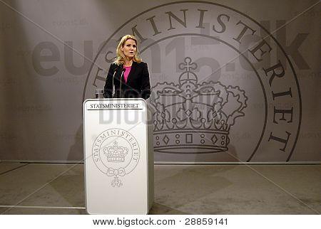 Denmark_ms. Helle Thorning-schmidt_danish Prime Minister