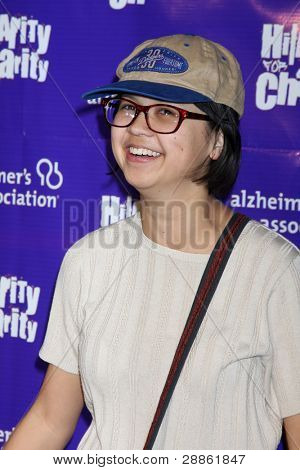 LOS ANGELES - JAN 13:  Charlene Yi arrives at  the