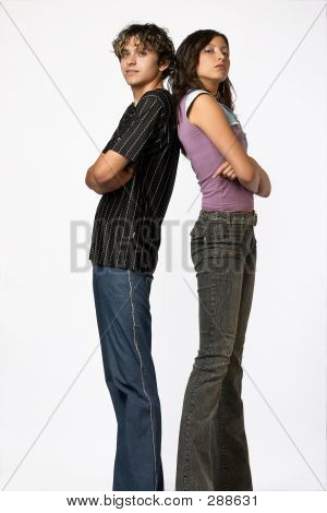 Loving Teen Couple