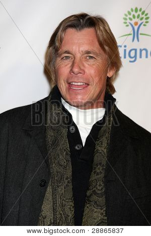 LOS ANGELES - JAN 12:  Christopher Atkins. arrives at  the Los Angeles Derby Prelude Party at The London Hollywood Hotel on January 12, 2012 in West Hollywood, CA