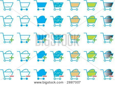 Shopping Cart Icon / Icons