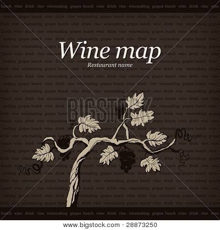 Wine map design