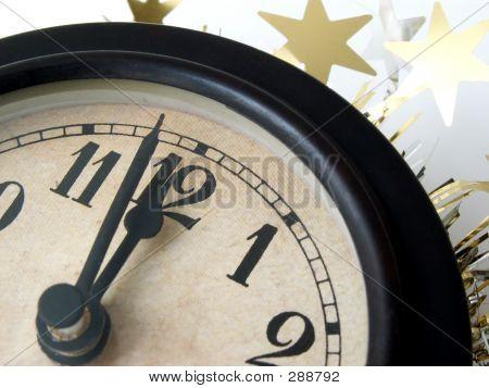 Reloj huelgas medianoche