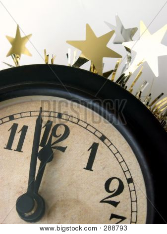 Clock Strikes Midnight - Vertical