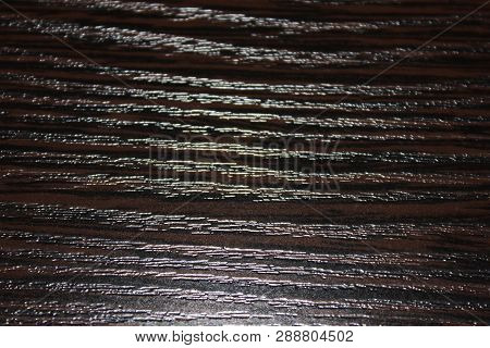 Wooden Table Dark Abstract Background