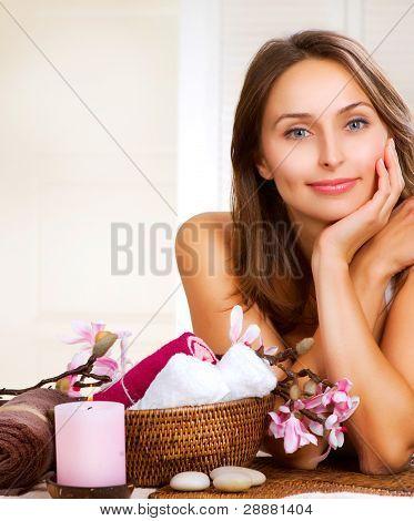 Retrato de mujer de Spa