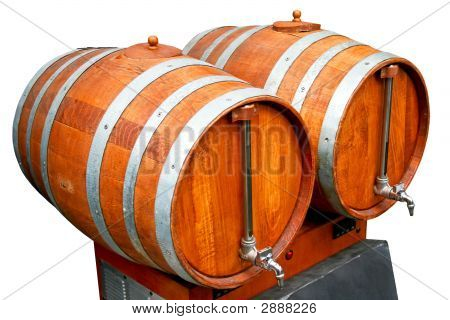 Barrels With Pipes