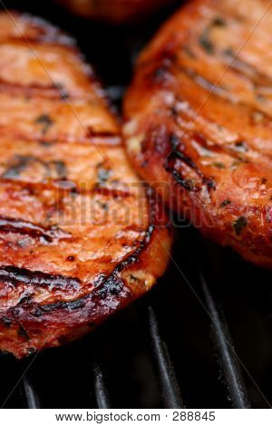 Sizzling Hot Meat