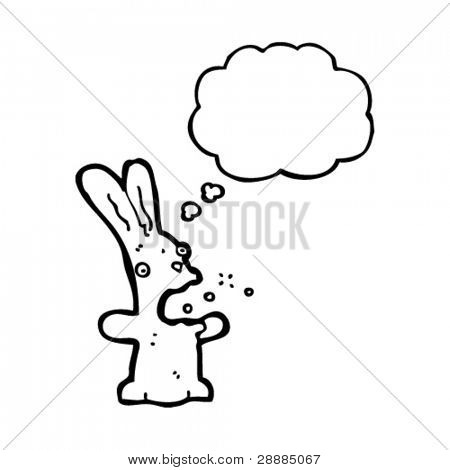 funny belching rabbit cartoon