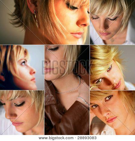 Female hair models